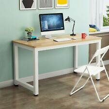 New Listingwood Computer Table Study Desk Office Furniture Pc Laptop Workstation Home Sale