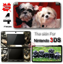 Dog Puppy Schnauzer Cute Pet SKIN VINYL STICKER DECAL COVER #5 for Nintendo 3DS