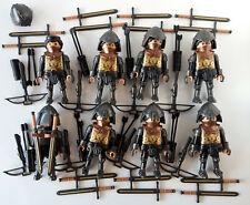 Playmobil Ritter Schwarzer Schloss 8x Figuren Set 70242