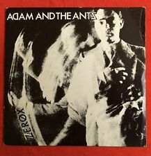 "ADAM AND THE ANTS -Zerox- Rare Original UK 7"" With Picture Sleeve (Vinyl Record)"