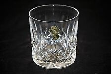 Old Vintage Waterford Lead Crystal Old Fashioned Glass Lismore Vertical Cut Bowl
