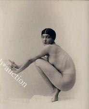 Judaika DR BRUNO WOLF Brünn / Aktstudie / Nude Study * Rare Vintage 1920s Photo