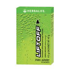 New Herbalife Nutrition Liftoff Caffeinated Beverage Drink Lemon-Lime Blast