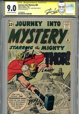 Thor Journey into Mystery 86 CGC 9.0 SS X3 Stan Lee Lieber Ayers Only 1 higher