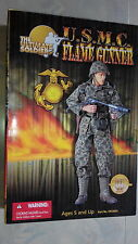 "21st Century Toys The ULTIMATE SOLDIER U.S.M.C FLAME GUNNER 12"" 1:6 scale figure"