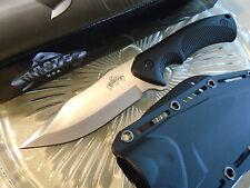 "Master Premium Combat Dagger Hunter Knife Belt Clip Sheath Full Tang 1149 9"" New"