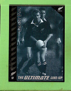 1995 NEW ZEALAND  ALL BLACKS RUGBY UNION CARD  #37  GRANT  FOX