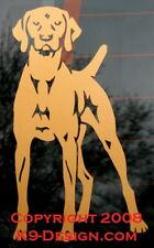 Vizsla Standing - Copper Sticker/Decal - Approx 4''X6'&#03 9;