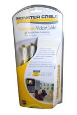Monster Cable Composite Video Cable - 8 Ft - High Quality Video Cable