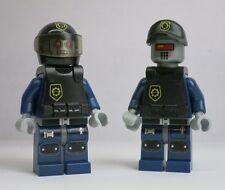 2)Robo Swat Lot Armor Baseball Hat 70819 70808 Movie LEGO Minifigure Figure mini