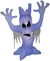 HALLOWEEN SCARY TREE BLACK LIGHT  HAUNTED HOUSE  INFLATABLE AIRBLOWN 12 FT