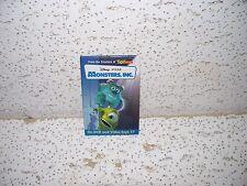 Disney PIXAR Monsters Inc. DVD Video Store Promo Pin / Button RARE