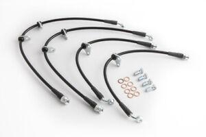 Ballade Sports 00-05 Honda S2000 Stainless Steel Braided Brake Line Kit