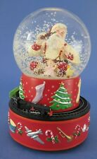 Hallmark Christmas Coca-Cola Santa Musical Snow Globe with Moving Train