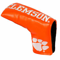 CLEMSON TIGERS Team Golf Blade Putter Cover MAGNETIC CLOSE LICENSED