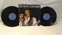 LP Vinyl Record Album Elvis in Concert 1977