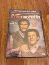 Step Brothers [New DVD] Dolby Digital, Dubbed, Subtitled, Unrated, New Sealed