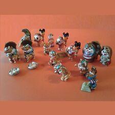 Lot de figurines de 13 Egyptochats, les chats Egyptiens Kinder, état comme NEUF