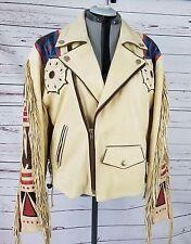 VOLCANO  Native Buffalo leather jacket Medium/Large Superb/Mint one of a kind