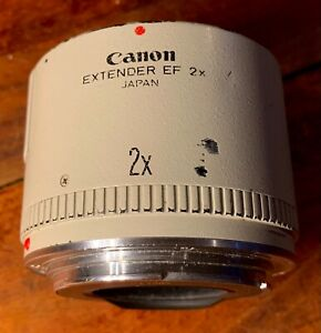 Canon 2X Extender - Mounts On Canon Camera Before Lens & Doubles Magnification.