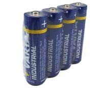 12 x Varta AA Industrial Mignon Batterie LR06 2600mAh 1,5V Alkaline 3 x 4er Pack