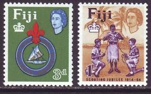 Fiji 1964 SC 206-207 MH Set Scout