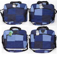 "TerraCycle Laptop Sleeve/Bag Shoulder Strap 13/15/17"" Denim Blue/Black Jeans NWT"
