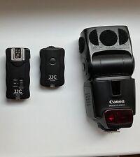 canon speedlite 430ex ii plus EXTRA remote shutter