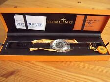 Stuhrling 107D 33152 Classic HELIOS Automatico Skeleton Silver-tone Men's Watch