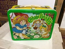 Cabbage Patch Kids rare metal lunch box with thermos 1983