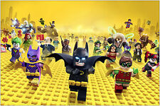 The Lego Batman Movie Poster Art Print 91x61 cm