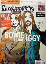 Mag 2003: DAVID BOWIE_IGGY POP_HAWKSLEY WORKMAN_JOHNNY CASH_COLDPLAY