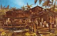 THE WAREHOUSE Marina Del Rey, California Restaurant Vintage Postcard ca 1960s