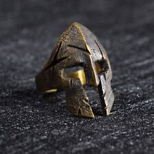 Norse Viking Warriors Ring Mask Helmet Nordic Pagan Punk Gothic