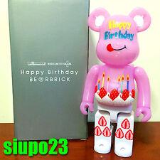 Medicom 400% Bearbrick ~ Happy Birthday Be@rbrick Medicom Toy Plus Limited
