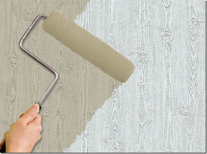 Wood Grain Textured Paintable Wallpaper RPL1002LW
