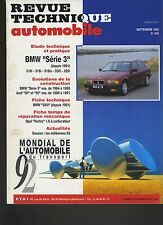 (7A)REVUE TECHNIQUE AUTOMOBILE BMW série 3 / série 5 / AUDI 80 et 90