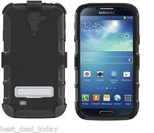 SEIDIO CONVERT RUGGED COMBO HOLSTER & CASE FOR SAMSUNG GALAXY S4 S 4 BLACK OEM