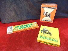 Vintage 1960s BOARD GAMES Perquackey MILTON BRADLEY CRIBBAGE Touring PARKER BROS