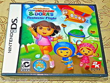 NES Nintendo DS Team Umizoomi & Dora's DORA Fantastic Flight Game NEW SEALED