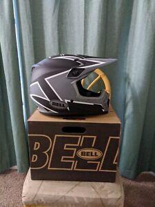 Bell MX-Mips Twitch Matte Black/Gray/White Size XL Helmet 61-62 CM DOT ECE Mips