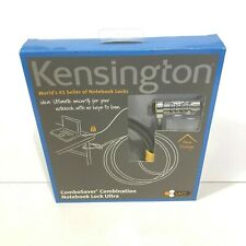 Kensington ClickSafe Combosaver Laptop Combination Lock 6' New In Package Ao848A