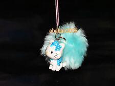 Yujin Sanrio Charmmy Kitty Blue hairball strap figure gashapon ( one figure )