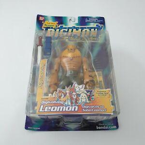 Bandai Digimon Adventure Digivolving Leomon SaberLeomon Action Figure Rare