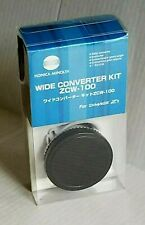CAMERA SLR Wide Angle Converter Lens Konica Minolta ZCW-100 Dimage Z1 NEW BOX