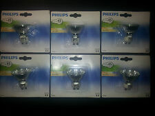 6 dicroica PHILIPS  halogenas GU10 35W -- 220v (directa red)
