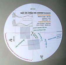 SAEC we-308/we-308sx (sporgenza 5 mm) Cartuccia Stylus allineamento Goniometro