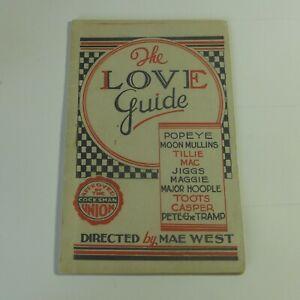 Vintage Original Tijuana Bible The Love Guide Super Rare 16 pg Authentic First