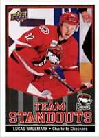 2017-18 Upper Deck AHL Team Standouts Hockey Card Pick