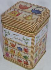 Boite thé teapots 100g